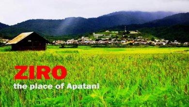 Photo of ZIRO- the place of Apatani Tribe in Arunachal