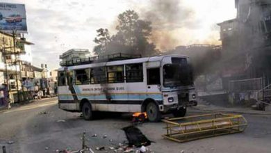 Photo of Violence mars Arunachal bandh called by AAPSU in protest against Chakma Hajong Citizenship issue