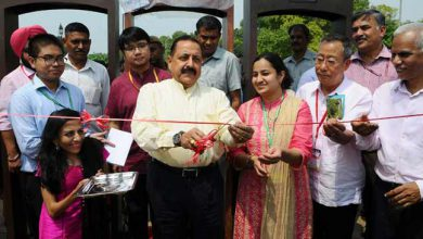 "Photo of Dr Jitendra Singh inaugurated ""North East Calling"" festival at India gate"