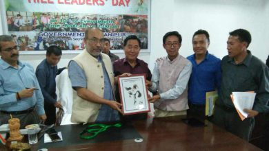 Photo of Manipur CM N Biren Singh launches official mascot of Tangkhul Naga Football Centenary (TNFC)