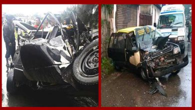 Photo of Shillong; Six injured in a road accident
