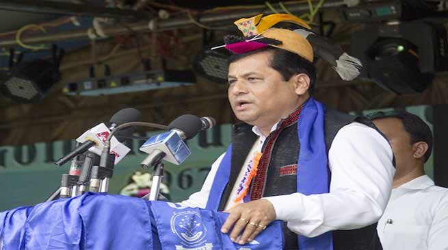 Sonowal appeals student community to be dedicated for state development