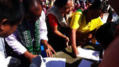Photo of ABSU Organises Blood Signature Campaign for Bodoland