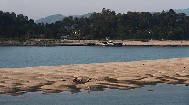 After Siang now Abnormal deviations in Brahmaputra water