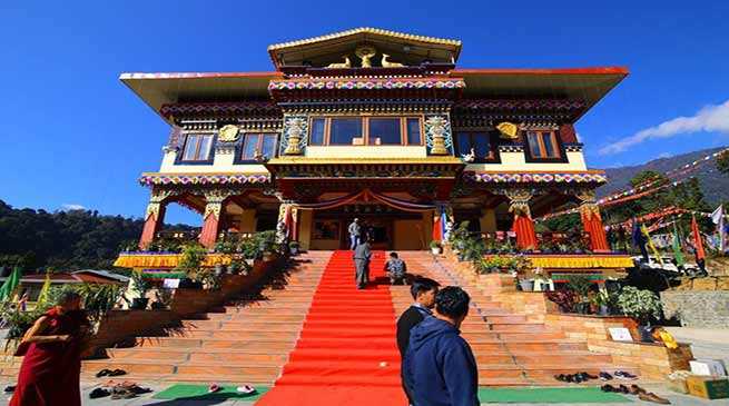Sikkim- Chamling inaugurated the Tashi Choling Dharma Centre