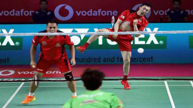 Photo of Vodafone Premier Badminton League; Hyderabad Hunters take 2-0 lead against North East Warriors