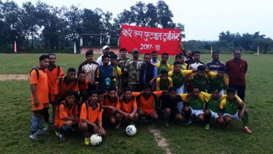 Photo of Shillong- BSF organised 'Border Cup' football tournament in Meghalaya