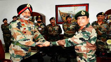 Photo of Tezpur: Change of Command of Indian Army's Gajraj Corps
