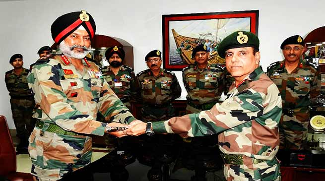 Tezpur: Change of Command of Indian Army's Gajraj Corps