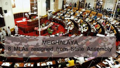 Photo of Meghalaya:  8 MLAs, 5 from Congress resigned from Assembly