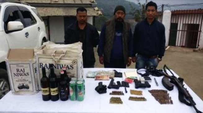 Nagaland- NIA Nabs self-styled Brigadier of NSCN ( KN )