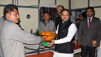 Photo of Shillong: SCP on Health & Family Welfare visits Composite Hospital BSF