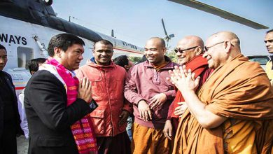 Photo of Tripura: Khandu thanked PM Modi for his contribution towards Buddhist community