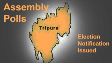 Photo of Tripura Assembly Polls: Election notification issued