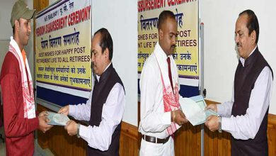 Photo of Assam: NFR Awarded two Railway Staff