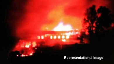 Photo of Nagaland Poll Violence:  Candidate house torched
