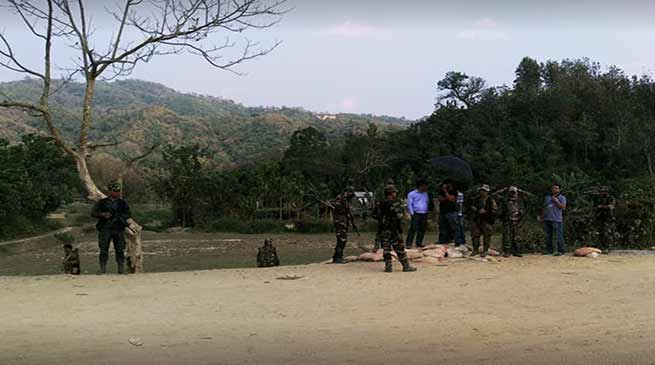 Assam : All quiet on Assam-Mizoram interstate border