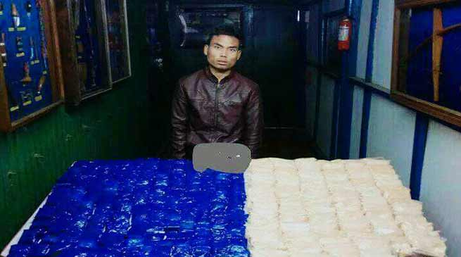 Manipur: Assam Rifles recovers contraband drugs worth over Rs 11 Cr