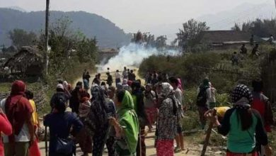 Photo of Arunachal: Bandh Supporters attacks on Police, SP Siang, OC Pangin injured