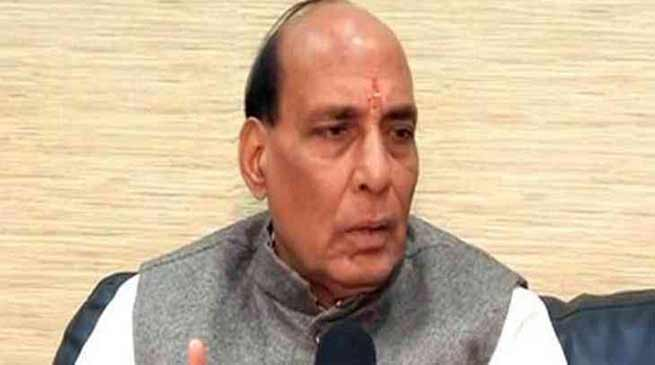 Defuse tension along Assam-Mizoram Border- Rajnath Singh