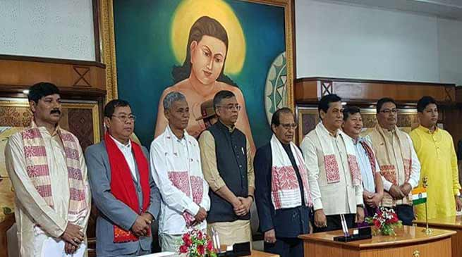 Assam: 7 new minister inducted in Sonowal's cabinet