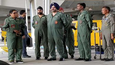 Photo of Gagan Shakti: Sitharaman visits Chabua Air Force Station in Assam