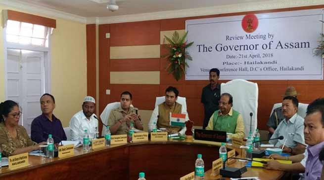 Assam: Governor calls for effective implementation of Central schemes