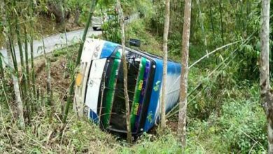 Photo of Nagaland:  4 Students from Kohima Bible College injured in a bus accident