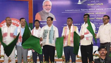 Photo of Assam: Sonowal flagged off  Dibrugarh – Silchar new express train