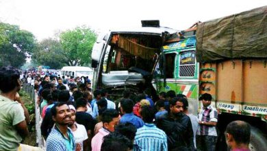Photo of Assam: Bus, Truck Collide near Kaziranga, 10 Injured