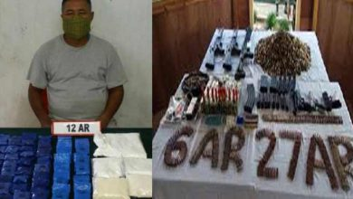 Photo of Manipur : Assam Rifles Recover Arms, Ammunition, Explosives and Drugs