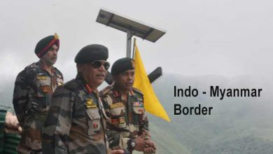 Photo of Nagaland:  GOC Eastern Command visits along Indo-Myanmar border