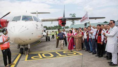 Photo of Arunachal: Alliance air starts commercial flight from Pasighat
