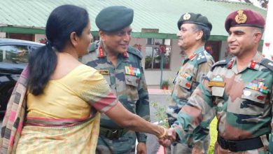 Photo of Nagaland : Defence Minister Nirmala Sitharaman visits Army's Spear Corps Zone