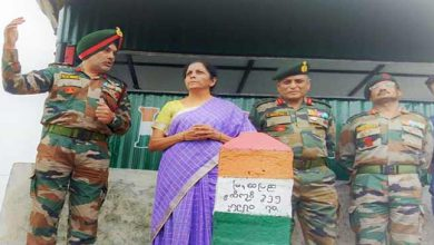 Photo of Nagaland:  Defence Minister visits Indo-Myanmar Border