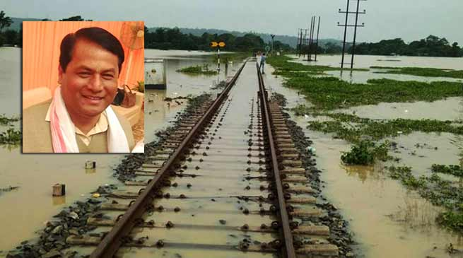 Assam: CM Sarbananda Sonowal to visit flood hit Hailakandi