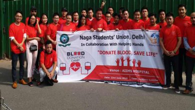 Photo of Our aim in Delhi, no NE patients die for want of blood in any hospital- Robin Hibu