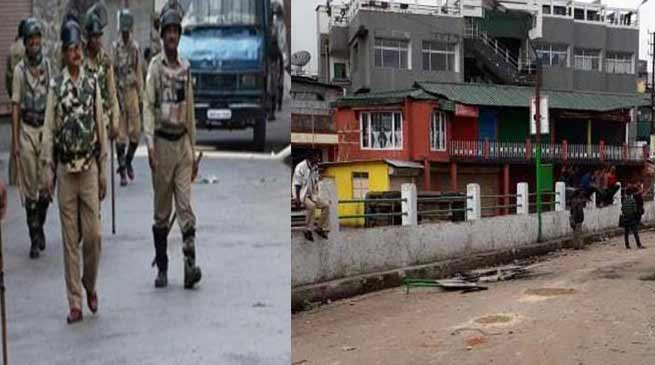 Meghalaya: Curfew imposed in Shillong after clash