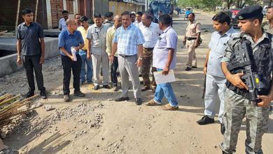 Photo of Assam: Himanta inspects roads from Six Mile to VIP road