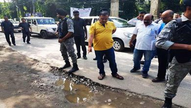 Photo of Assam: Himanta inspects the road condition in Guwahati city