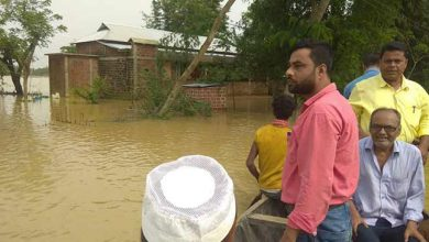 Photo of Assam: 80 thousand  affected in flood hits Hailakandi
