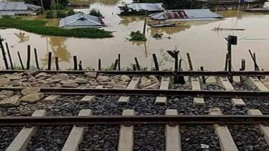 Photo of Assam Flood: Fresh Land slides affects train services