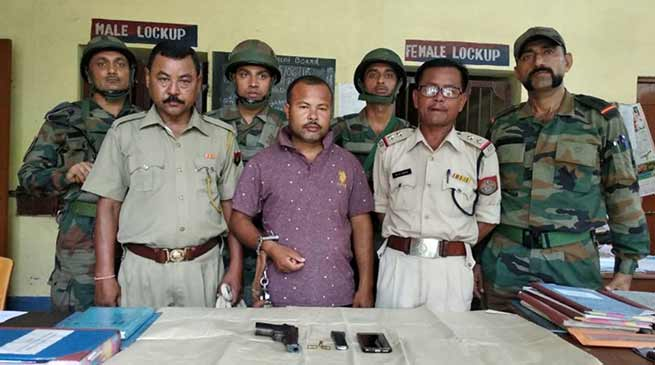 Assam: Police arrested ULFA (I) over ground activist