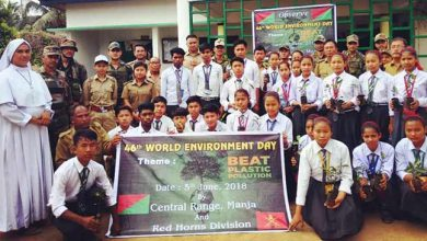 Photo of  Assam: Red horn division observes world environment day
