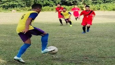 Photo of Assam: Red horn division organised friendly football match