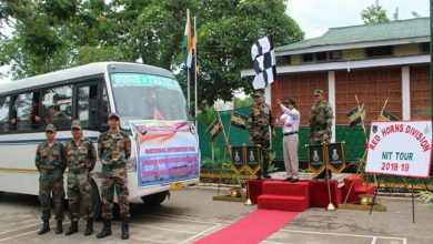 Photo of Assam: Red Horns Division organises National Integration Tour