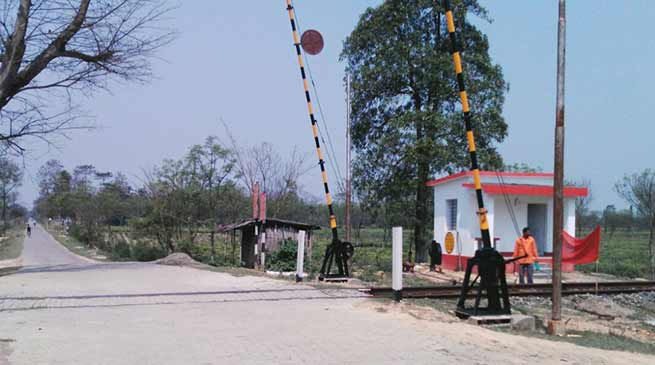 Assam: Tinsukia Division of NF Railway eliminates all un-manned level crossing gates