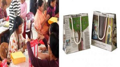 Photo of Mizoram: Women goes for echo friendly paper bags