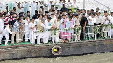 Photo of Assam: Vajpayee's ashes immersed in Brahmaputra and Barak