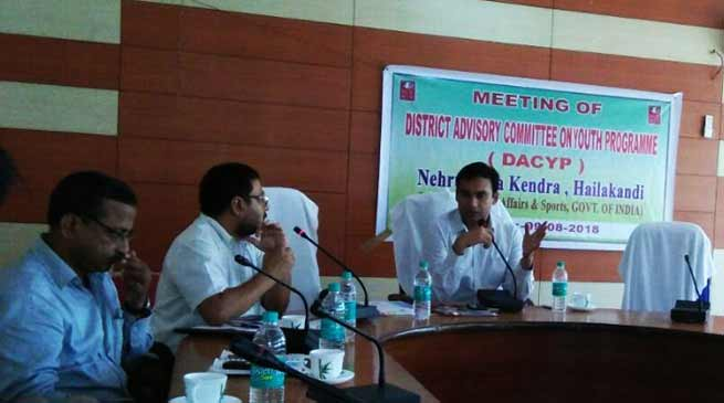 Assam:DACYP approves youth-centric programmes for Hailakandi district